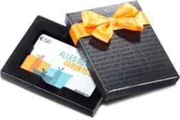 Amazon.de Box mit Geschenkkarte - 50 EUR (Geburtstag) - 1
