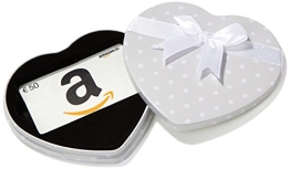 Amazon.de Box mit Geschenkkarte - 50 EUR (Herz) - 1