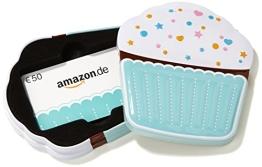 Amazon.de Box mit Geschenkkarte - 50 EUR (Muffin) - 1