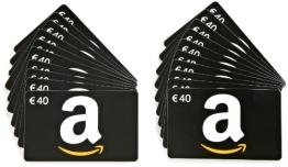 Amazon.de Geschenkkarte - 20 Karten zu je 40 EUR (Alle Anlässe) - 1
