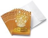 Amazon.de Grußkarte mit Geschenkgutschein - 10 Karten zu je 15 EUR (Alle Anlässe) - 1
