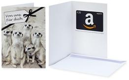 Amazon.de Grußkarte mit Geschenkgutschein - 20 EUR (Von uns. Für dich) - 1