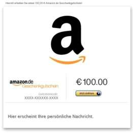 Amazon.de Gutschein per E-Mail (A wie Amazon) - 1